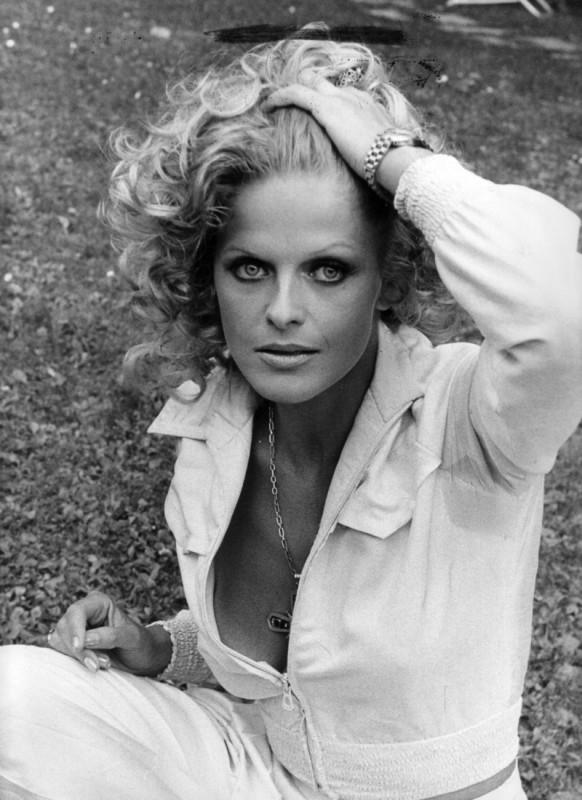 Un'immagine dell'attrice tedesca Karin Schubert