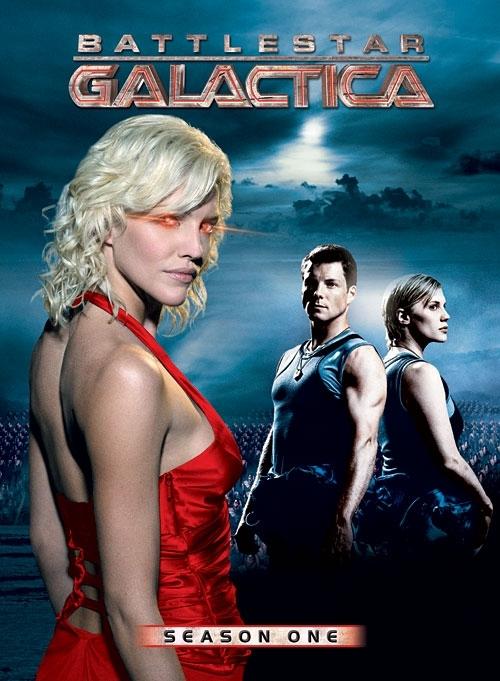 La copertina DVD di Battlestar Galactica - Season One