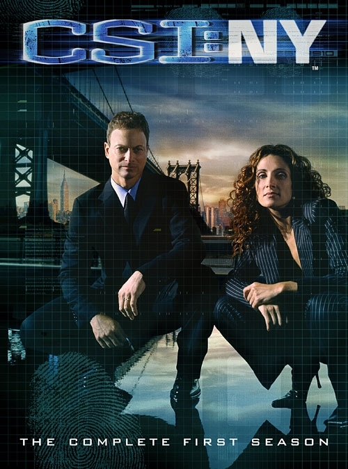 La copertina DVD di C.S.I. New York - The Complete First Season
