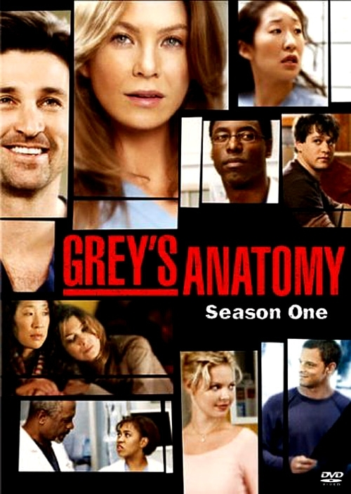 La copertina DVD di Grey's Anatomy - Season 1