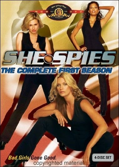 La copertina DVD di She Spies - The Complete First Season