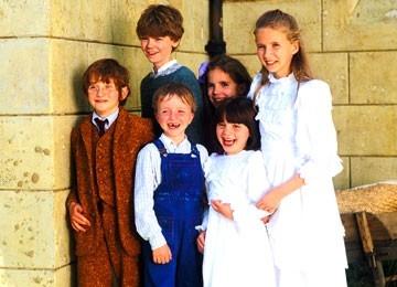 I giovani protagonisti di Nanny Mcphee - Tata Matilda