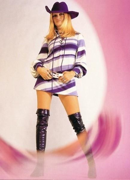 una sexy Brigitte Bardot