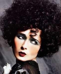 Isabella Rossellini truccata come Alla Nazimova