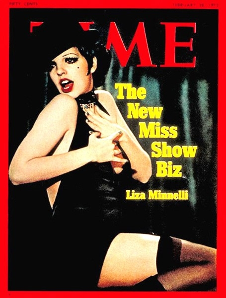 Liza Minnelli sulla cover di Time