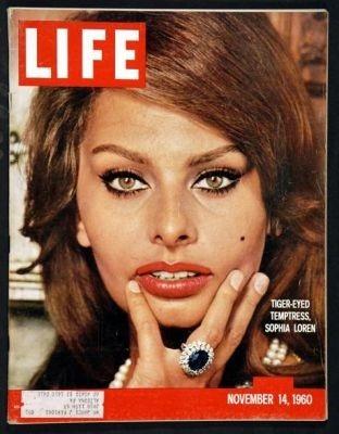 Sophia Loren sulla cover di Life