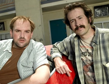 Ethan Suplee e Jason Lee in My Name Is Earl