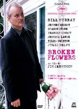 La copertina DVD di Broken Flowers