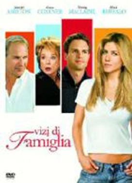 La copertina DVD di Vizi di famiglia