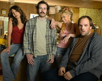 Nadine Velazquez, Jason Lee, Jaime Pressly e Ethan Suplee in My Name Is Earl