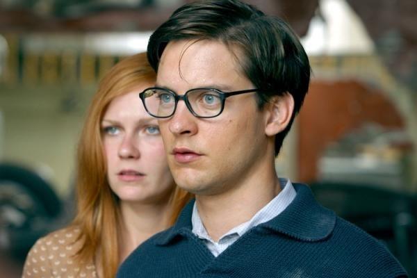 Tobey Maguire e Kirsten Dunst in Spiderman 2