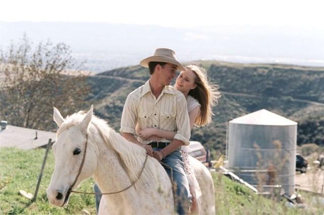 Edward Norton e Evan Rachel Wood in una scena di Down in the Valley