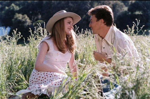 Evan Rachel Wood e Edward Norton in una scena di Down in the Valley (2005)