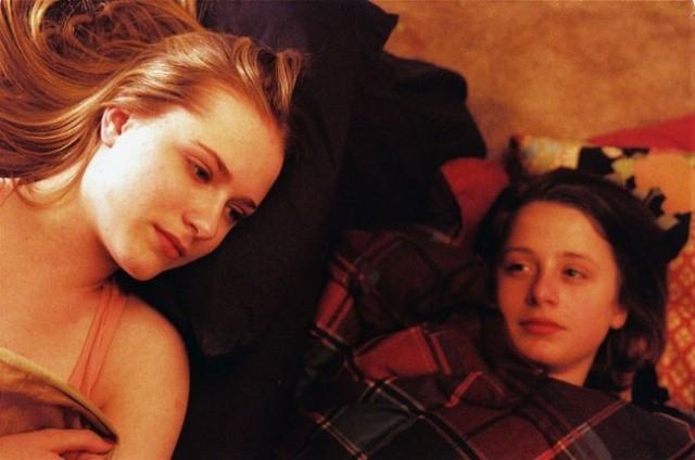Evan Rachel Wood e Rory Culkin in una scena di Down in the Valley