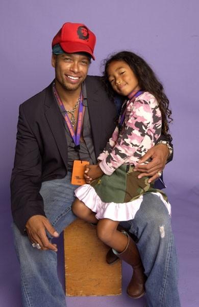 Gary Dourdan e sua figlia Nyla