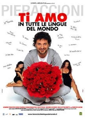 La copertina DVD di Ti amo in tutte le lingue del mondo - Edizione speciale