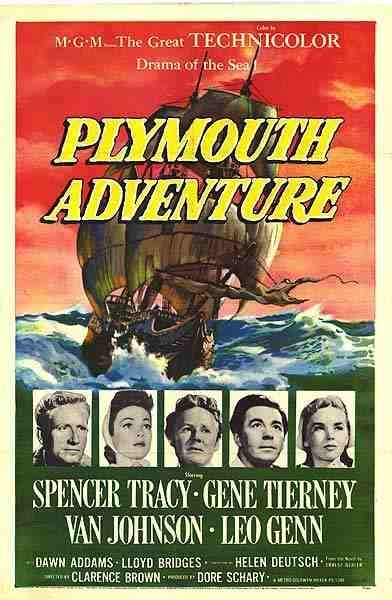La locandina di Gli avventurieri di Plymouth
