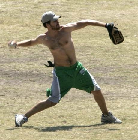 Jake Gyllenhaal sul campo da gioco