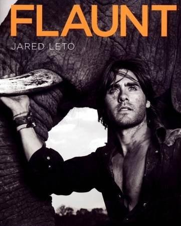 Jared Leto sulla cover di Flaunt