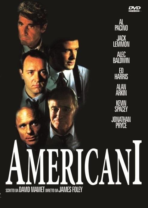 La copertina DVD di Americani