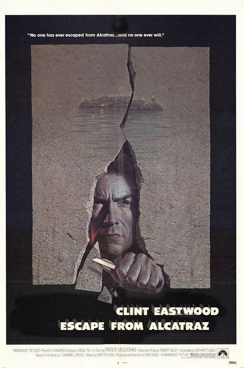 La locandina di Fuga da Alcatraz