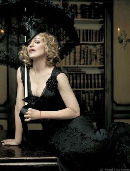 Una immagine della popstar Madonna