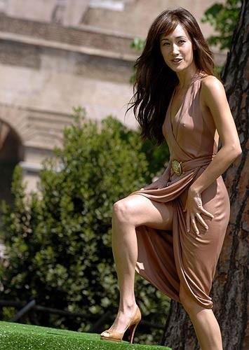 Maggie Q a Roma per l'anteprima mondiale di Mission: Impossible III
