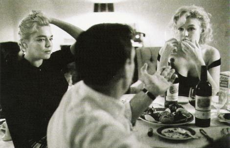 Monroe, Montand, Signoret