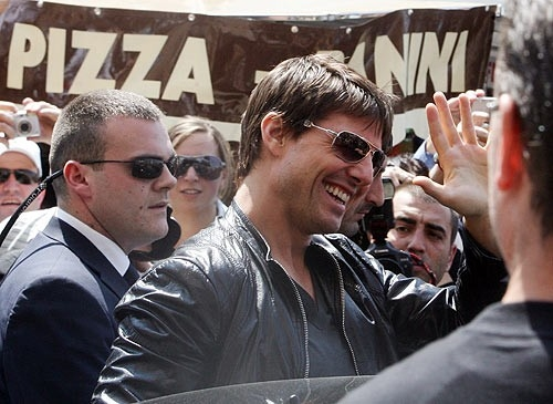 Tom Cruise a Roma per la premiere mondiale di Mission: Impossible III