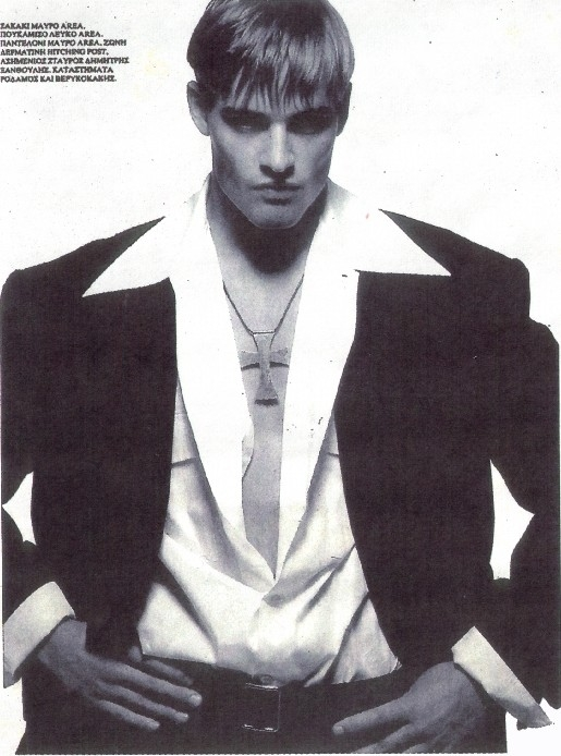 Un irriconoscibile Josh Holloway ai temi in cui lavorava come modello