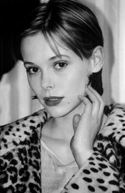 Barbora Bobulova in bianco e nero