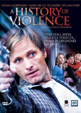 La copertina DVD di A History of Violence