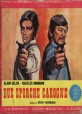 La copertina DVD di Due sporche carogne