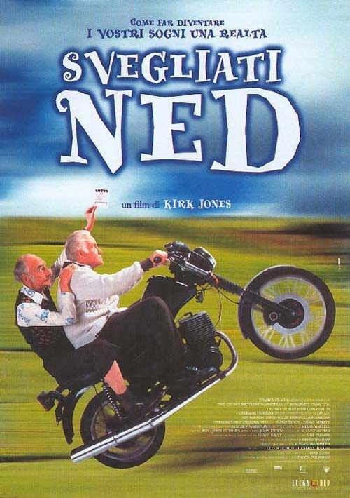 La locandina di Svegliati Ned