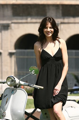 Michelle Monaghan a Roma per l'anteprima mondiale di Mission: Impossible III