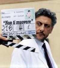 Sergio Castellitto sul set di Non ti muovere