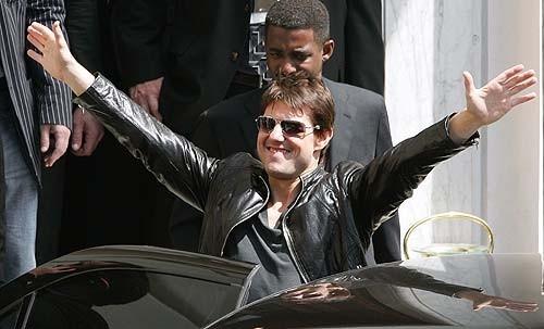 Tom Cruise a Roma per l'anteprima mondiale del film Mission: Impossible III
