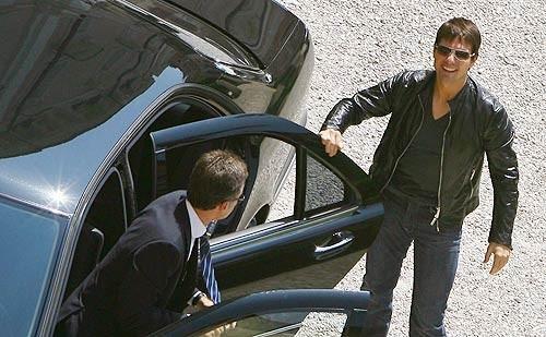 Tom Cruise a Roma per l'anteprima mondiale di Mission: Impossible III