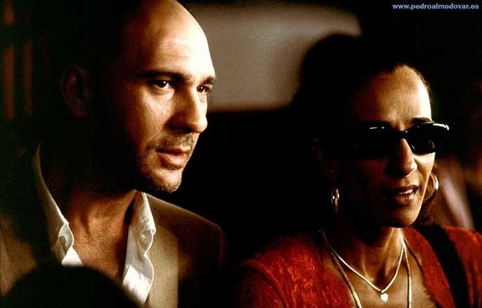 Dario Grandinetti con Rosario Flores in Parla con lei