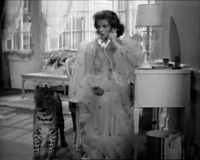 Katharine Hepburn in una scena di SUSANNA