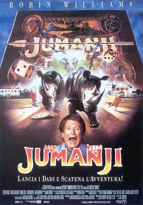 La locandina di Jumanji