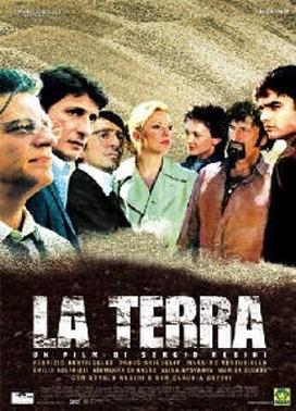 La copertina DVD di La terra