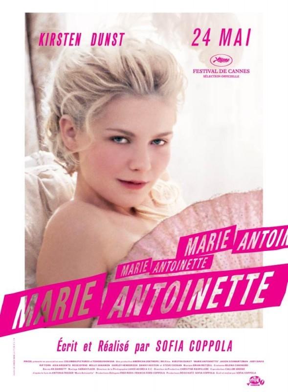 Un secondo poster francese per Marie-Antoinette