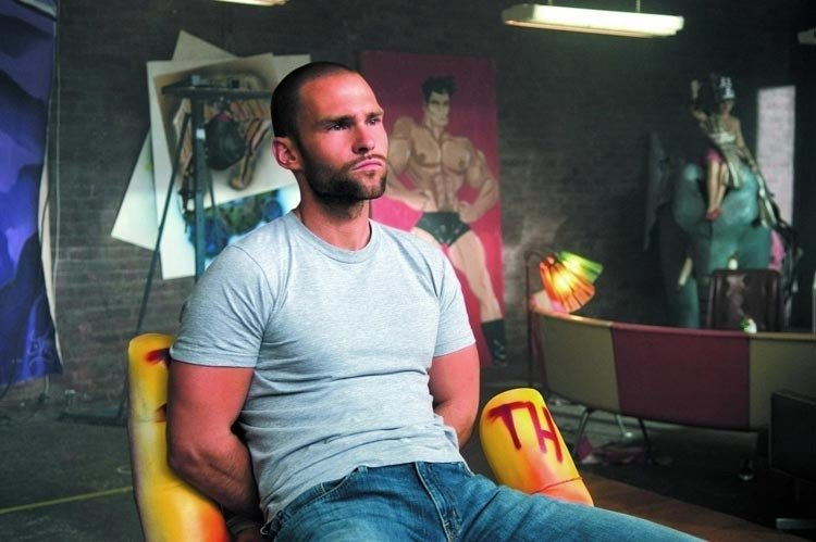 Seann William Scott in una scena di Sothland Tales