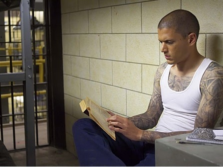 I tatuaggi di Wentworth Miller in mostra in Prison Break