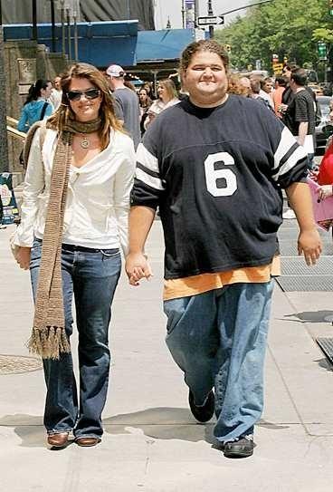 Jorge Garcia e la sua fidanzata Malia Hansen
