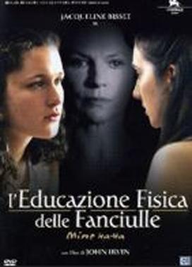 La copertina DVD di L'educazione fisica delle fanciulle