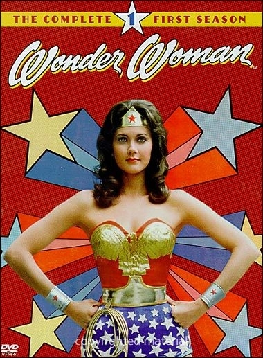 La copertina DVD di Wonder Woman - The Complete First Season