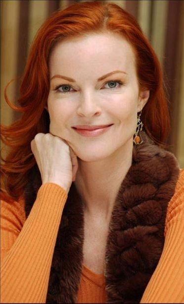 Un primo piano di Marcia Cross