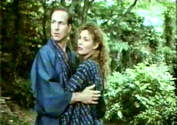 William Hurt e Solveig Dommartin in FINO ALLA FINE DEL MONDO